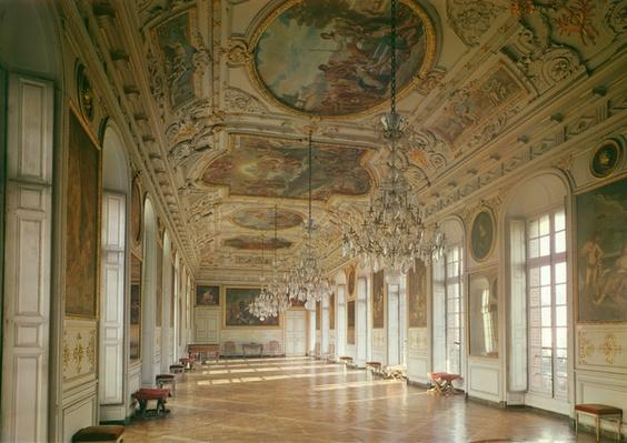 View of the gallery known as 'La Belle Inutile', designed by Robert de Cotte