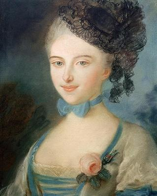 Portrait of Madame Balzac, c.1798