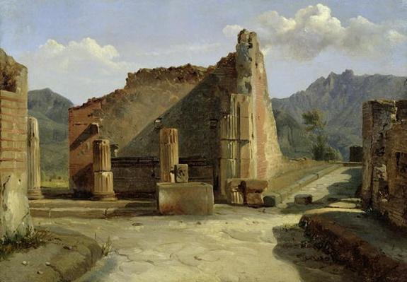 The Forum of Pompeii