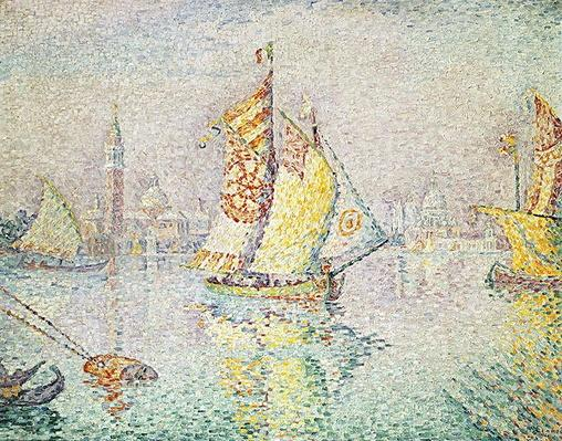 The Yellow Sail, Venice, 1904 by Signac, Paul (1863-1935)