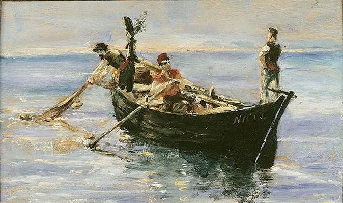 Fishing Boat, 1881