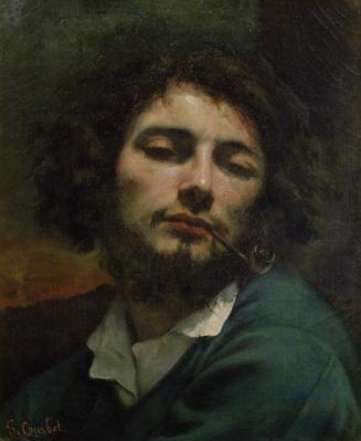Self Portrait or, The Man with a Pipe, c.1846