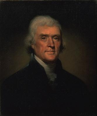 Thomas Jefferson Portrait by Rembrandt Peale | Ken Burns: Thomas Jefferson
