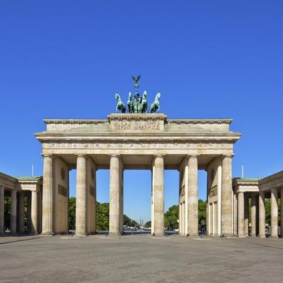 """Brandenburg Gate, Berlin"" 