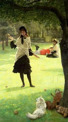 Croquet, c.1878