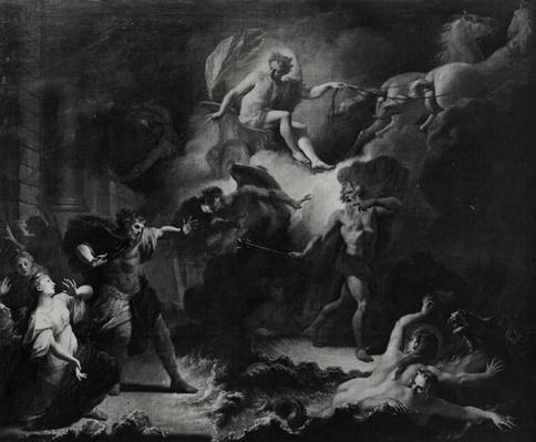 Laemedon Punished by Apollo and Poseidon, 1707