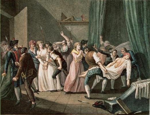 The Assassination of Marat, 13th July 1793