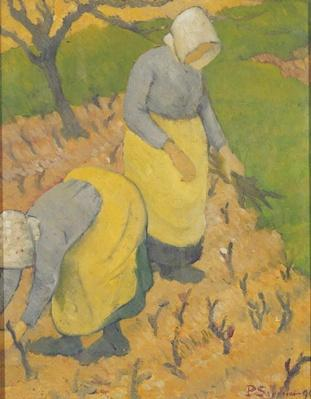 Women in the Vineyard, 1890
