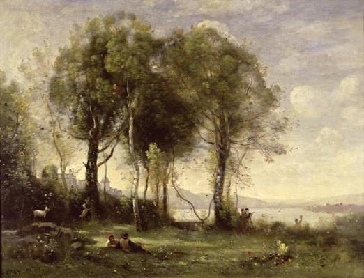 The Goatherds of Castel Gandolfo, 1866