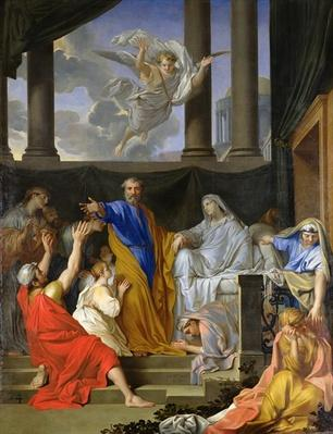 St. Peter Resurrecting the Widow Tabitha, 1652