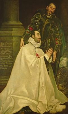 Julian Romero de las Azanas with St. Julian, 1587-97