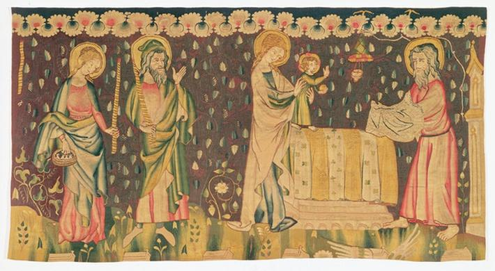 Presentation of the Infant Christ in the Temple, c.1380