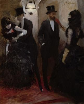 The Corridors at the Opera, 1885