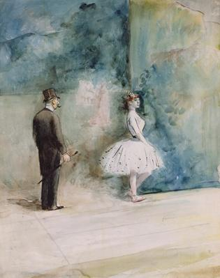 The Dancer, 1890