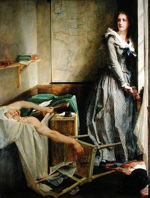 Portrait of Charlotte Corday