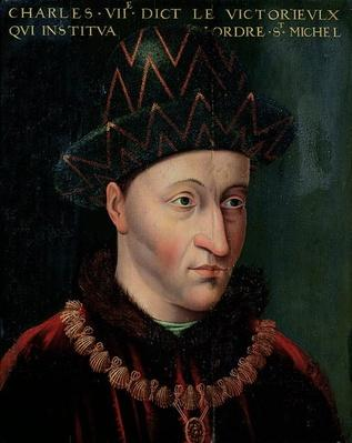 Portrait of Charles VII