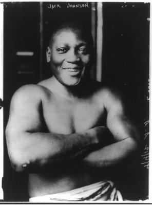 Jack Johnson in Boxing Trunks | Ken Burns: Unforgivable Blackness