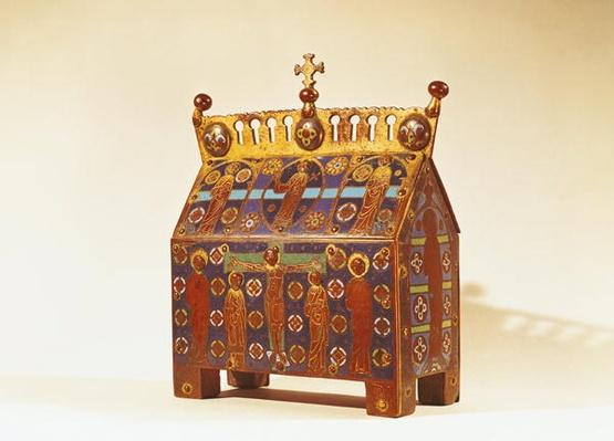 Reliquary chest, 12th-13th century