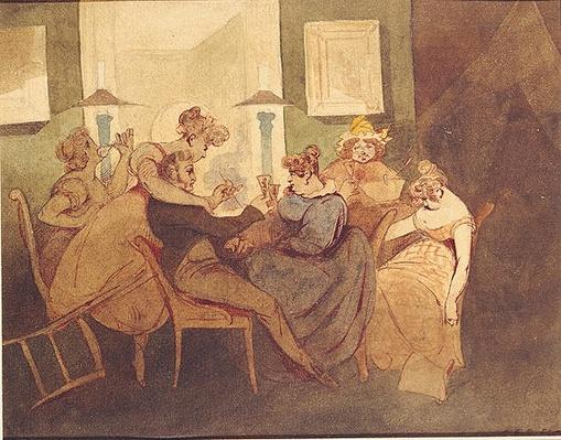 The Card Game, after 1830