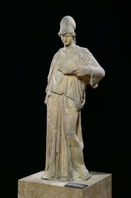 Athena with a cist, Roman copy of a 4th century BC original