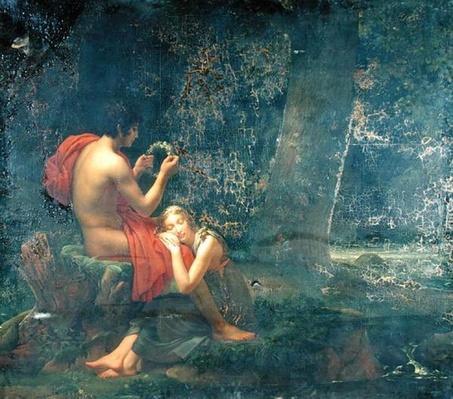 Daphnis and Chloe, 1824-25