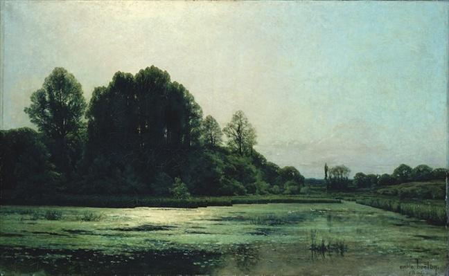 Landscape at Cernay, 1866