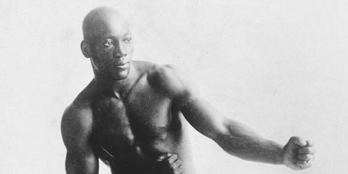 Jack Johnson in a Boxing Pose | Ken Burns: Unforgivable Blackness