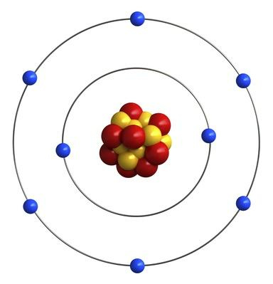 Atomic structure of oxygen | Science and Technology