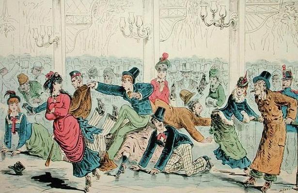 Skating Folies, after 1870