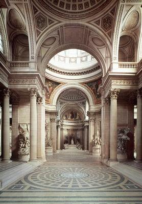 Interior view, 1764-1812