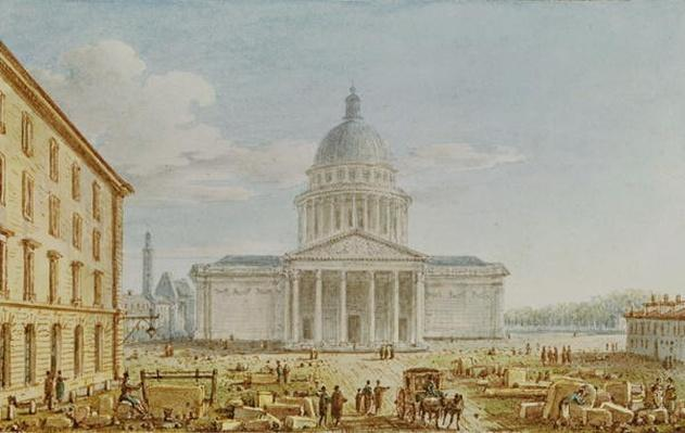 View of the Church of St. Genevieve, the Pantheon, 18th-19th century