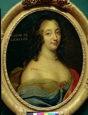 Portrait of Ninon de Lenclos