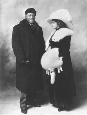 Jack Johnson and Etta Duryea | Ken Burns: Unforgivable Blackness