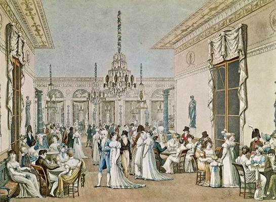 The Cafe Frascati in 1807