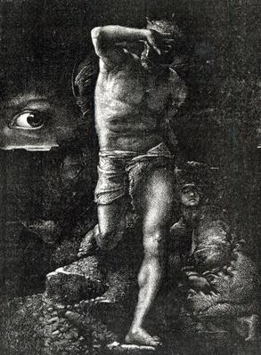 The Conscience or, The Eye Watching Cain, from 'La Legende des Siecle' by Victor Hugo