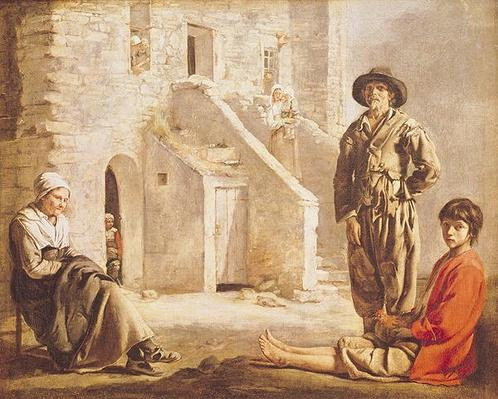 Peasants Before their House, c.1641