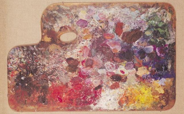 Kandinsky's palette