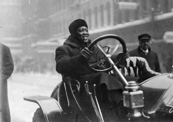 Jack Johnson Driving | Ken Burns: Unforgivable Blackness