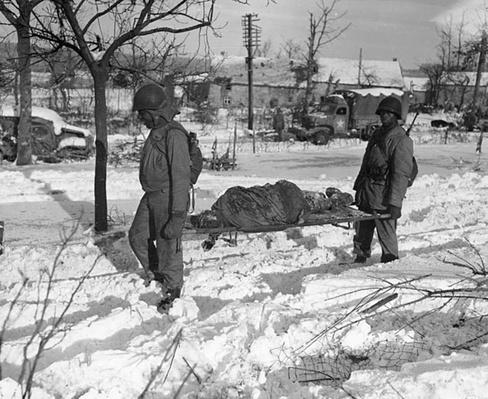 Malmedy: Removing Remains   Ken Burns: The War