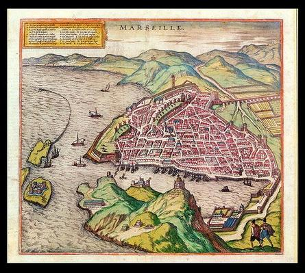 View of Marseille, 1574