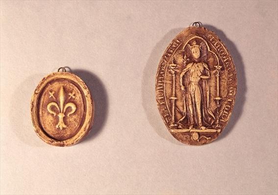 Seals of Marguerite de Provence