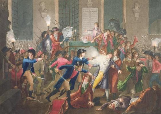 The Arrest of Robespierre, 'The Night of the 9th to 10th Thermidor, Year II, 27th July 1794'