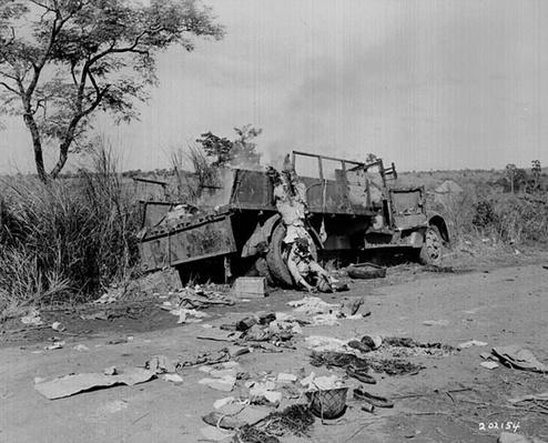 Destroyed Truck | Ken Burns: The War