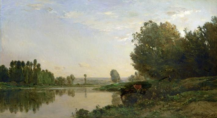 The Banks of the Oise, Morning, 1866