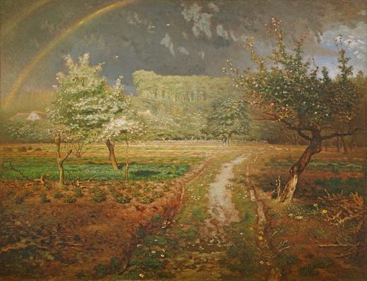 Spring at Barbizon, 1868-73