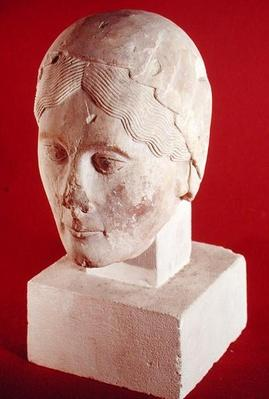 Head of a woman, from Cambrai Cathedral