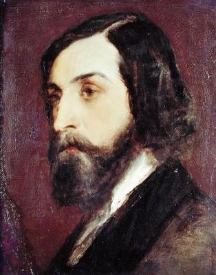 Portrait of Alfred de Musset
