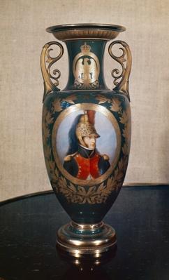 Sevres vase depicting Louis Bonaparte