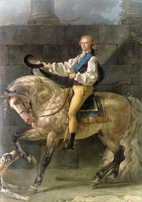 Equestrian Portrait of Stanislas Kostka Potocki