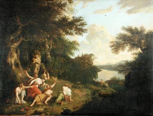 The Death of Orpheus, c.1770